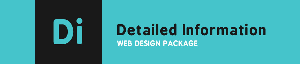 Detailed Information Web Design Package