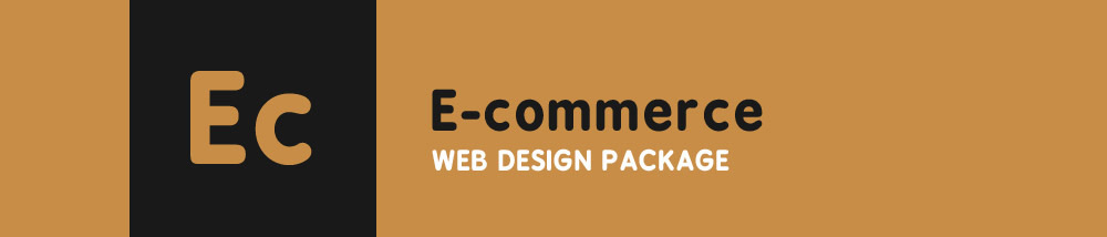 Ecommerce Web Design Package