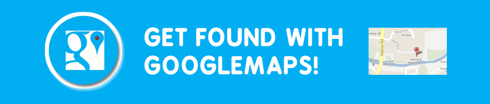 Get found with Googlemaps