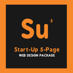 Start-Up 5 Page web design package